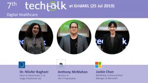 TechTalk #7 – Digital Healthcare – 25 Jul 2019