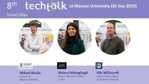 TechTalk #8 – Smart Cities – 26 Sep 2019